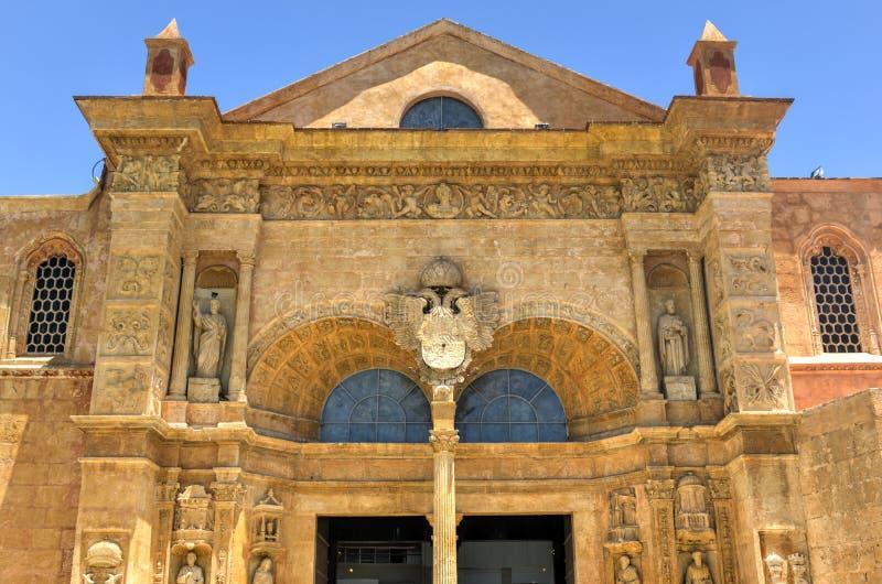 Catedral de St Mary de la encarnación, Santo Domingo, Dominic fotografía de archivo libre de regalías
