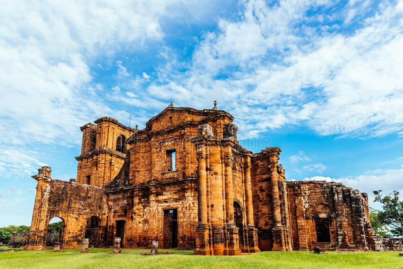 Catedral de St Michael das missões - lugar histórico foto de stock