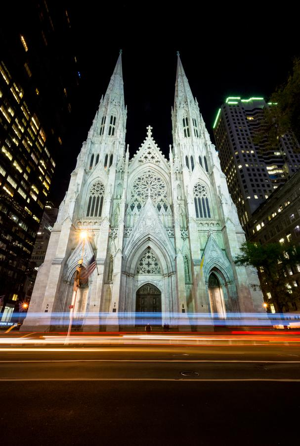 Catedral de St Patrick s foto de archivo libre de regalías