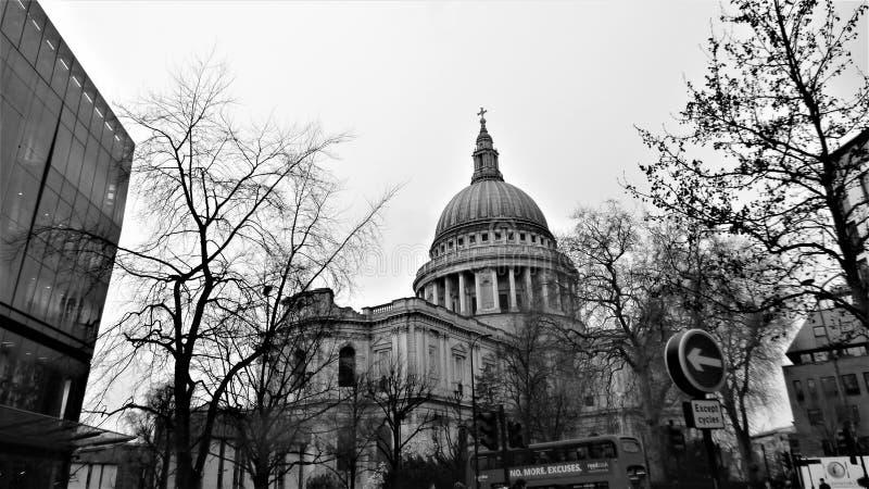 A catedral de St Paul fotos de stock
