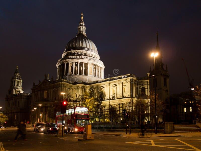 A catedral de St Paul em Londres fotografia de stock