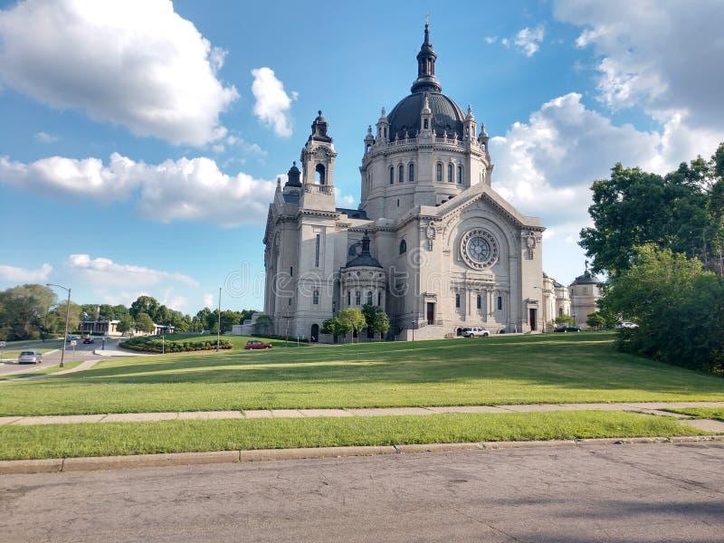 Catedral de st Paul Minnesota fotos de archivo
