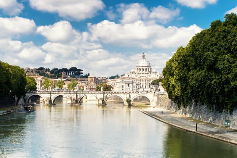 Catedral de St Peter, Roma fotos de stock