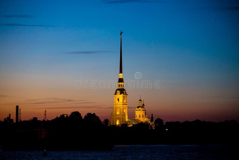 Catedral de St Petersburg foto de archivo