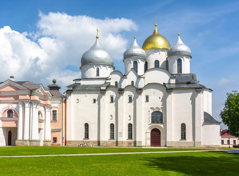 Catedral de St Sophia, Novgorod, Rusia fotos de archivo