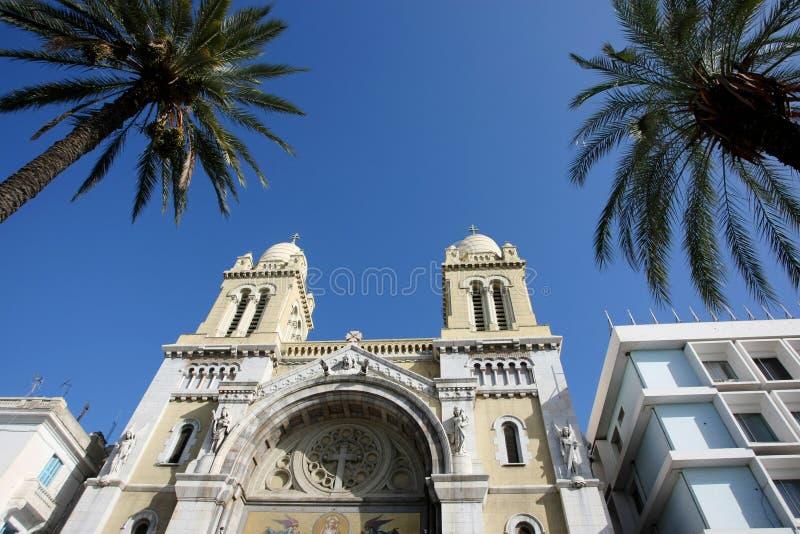 Catedral de St Vincent de Paul foto de archivo