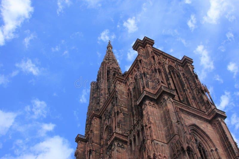Catedral de Strasbourg foto de stock