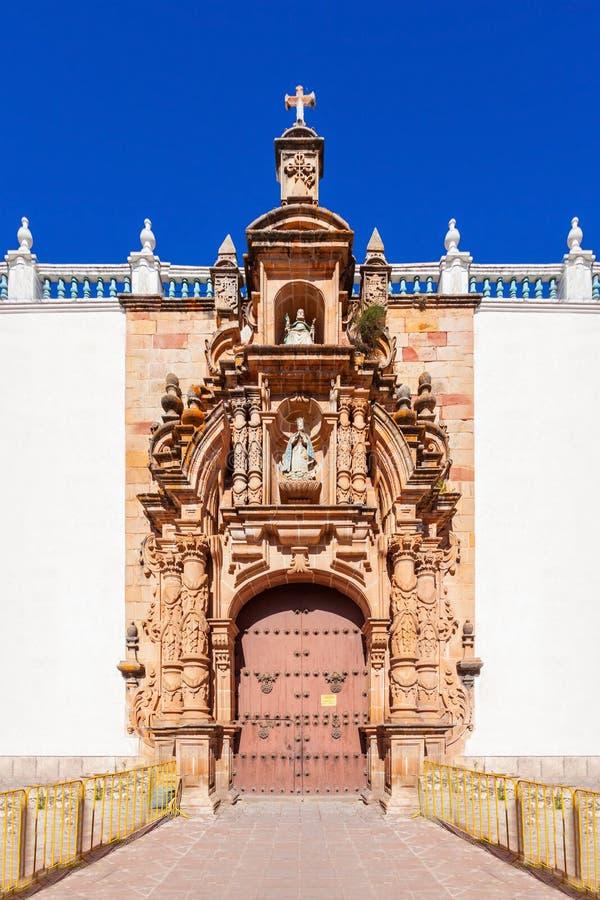 Catedral de Sucre fotos de archivo libres de regalías