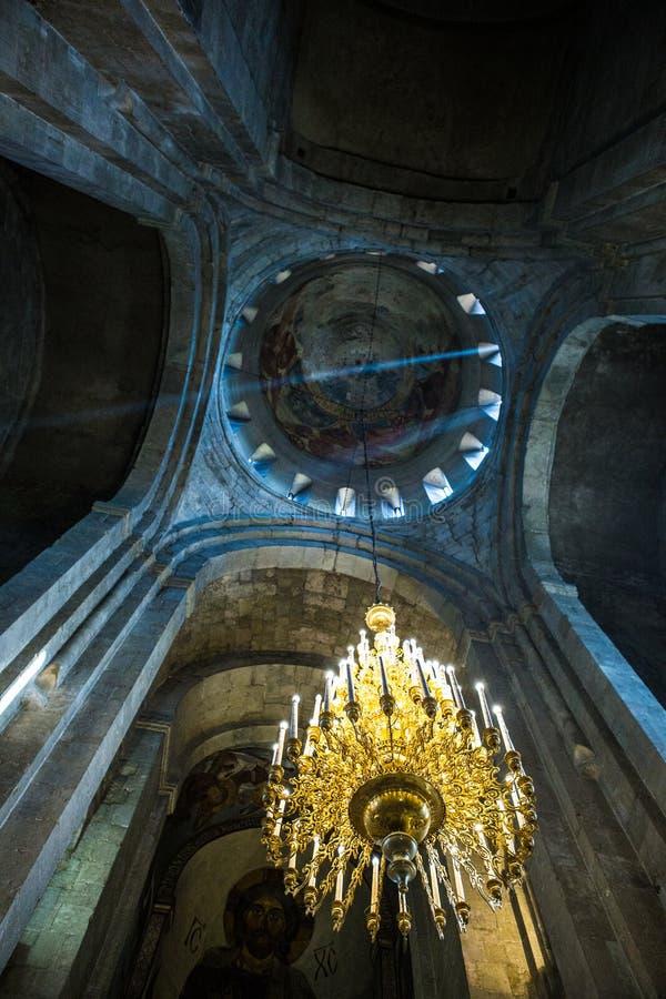 Catedral de Svetitskhoveli em Mtskheta fotos de stock royalty free