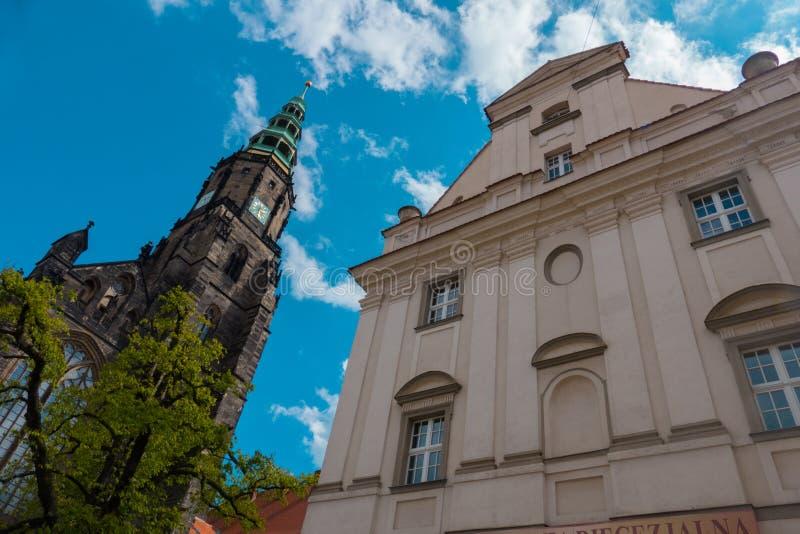 Catedral de Swidnica fotografia de stock