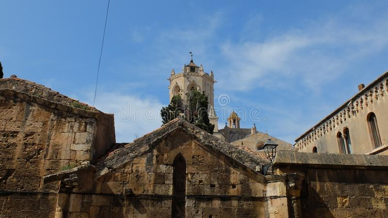 Catedral de Tarragona fotografia de stock royalty free