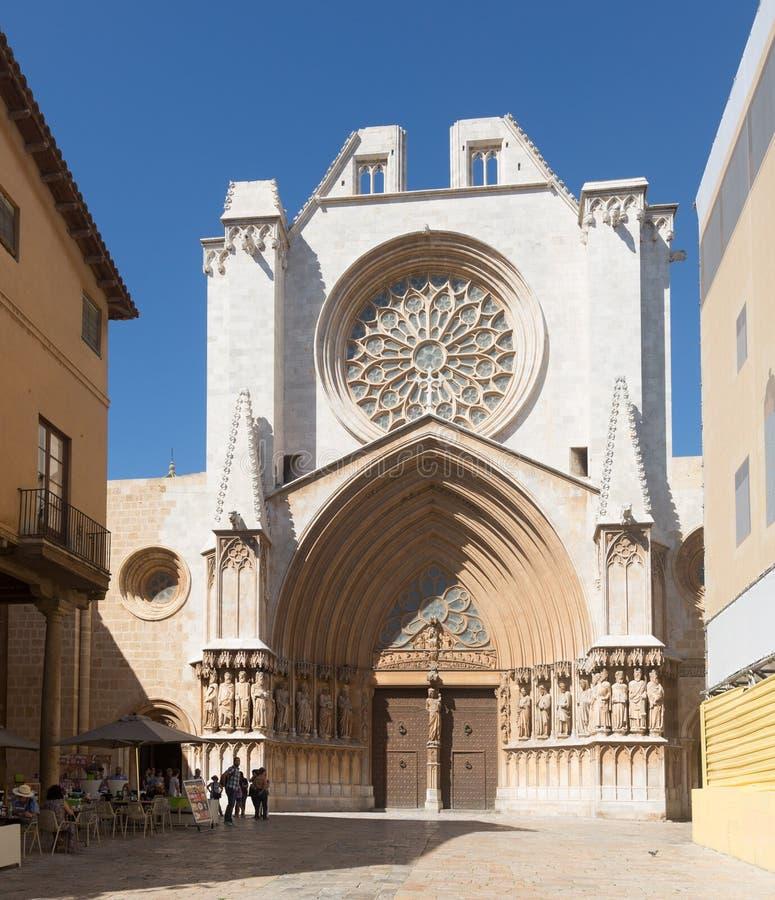 Catedral de Tarragona imagenes de archivo