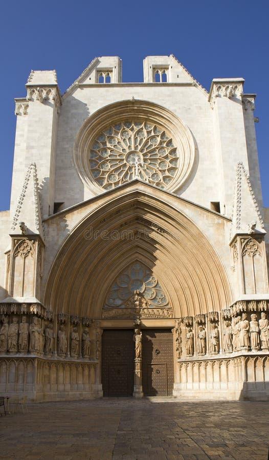 Catedral de Tarragona fotos de stock royalty free