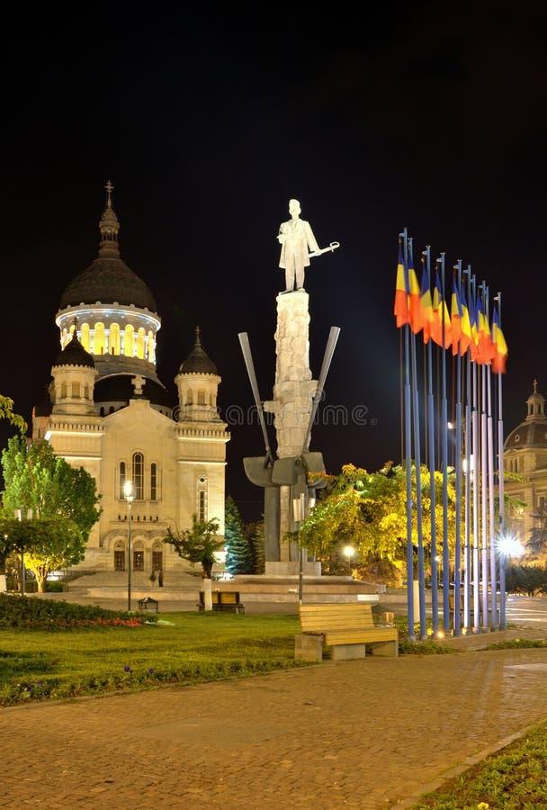 Catedral de Theotokos, Cluj, Romania imagem de stock