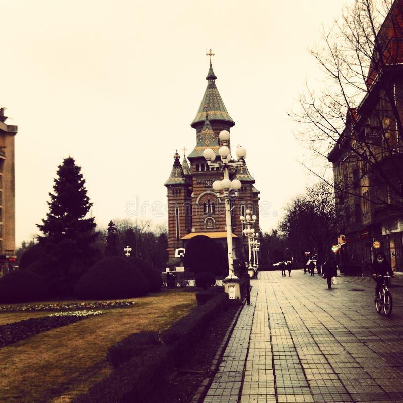 Catedral de Timisoara imagem de stock