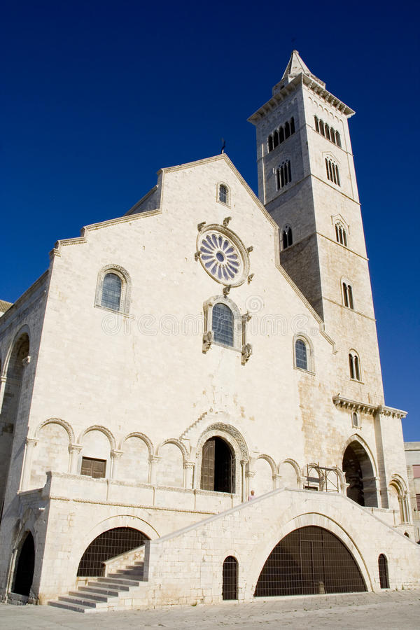Catedral de Trani imagem de stock