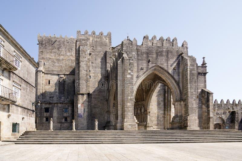 Catedral de Tuy de St Mary imagen de archivo