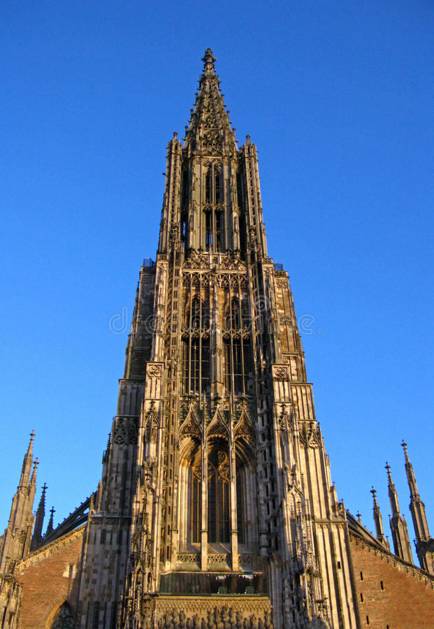 Catedral de Ulm, Alemanha imagem de stock