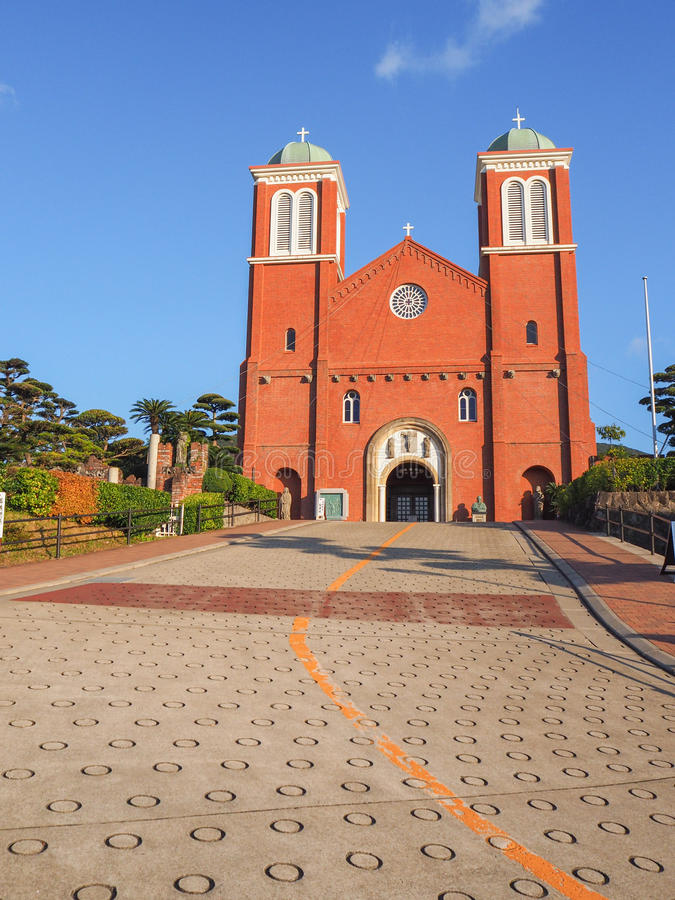Catedral de Urakami fotografia de stock royalty free