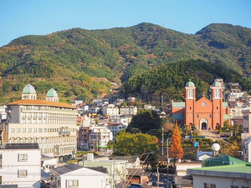 Catedral de Urakami imagem de stock