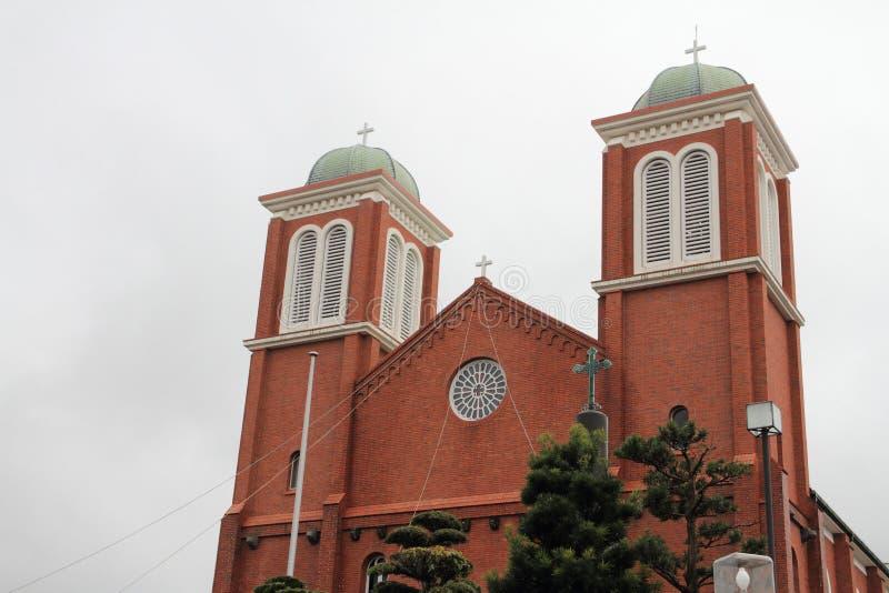 Catedral de Urakami imagens de stock