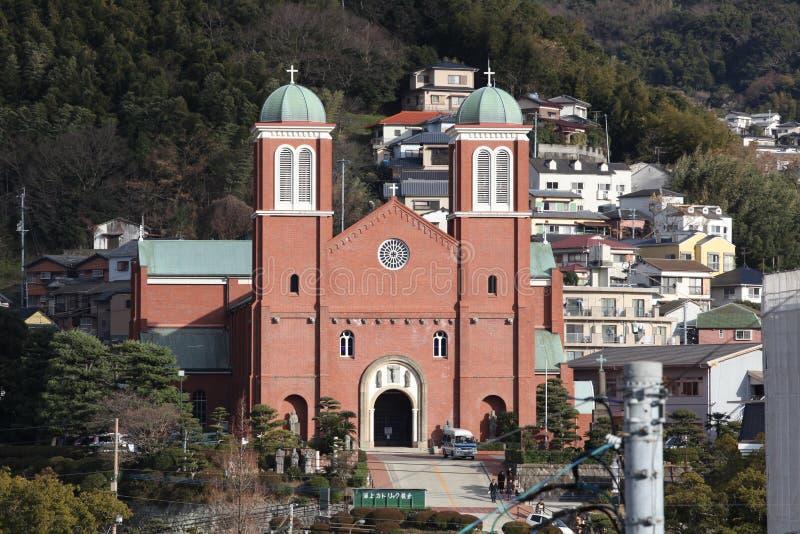 Catedral de Urakami em Nagasaki foto de stock