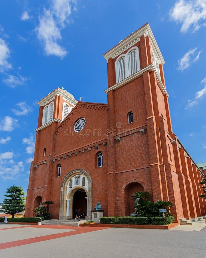 Catedral de Urakami en Nagasaki fotografía de archivo