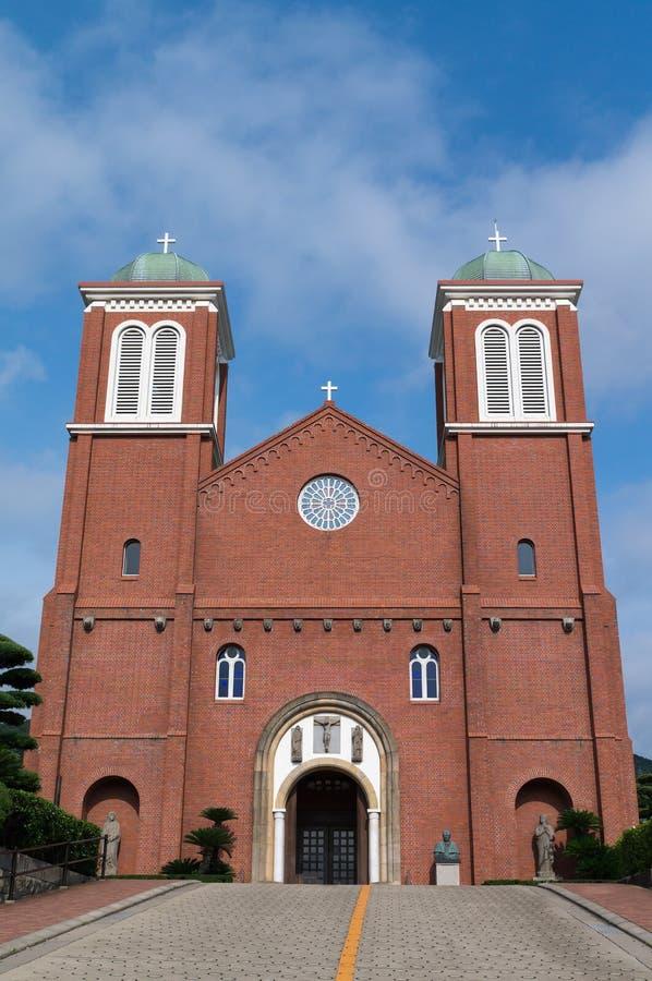 Catedral de Urakami, Nagasaki Japón imagen de archivo libre de regalías
