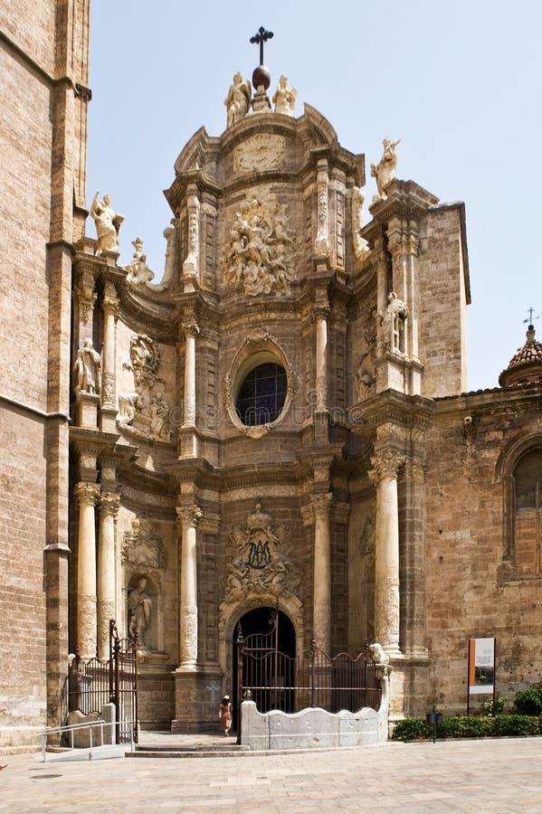 A catedral de Valença, Spain. imagens de stock