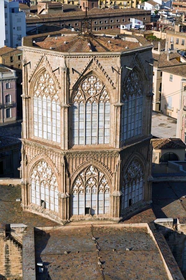 Catedral de Valença, Spain imagem de stock royalty free