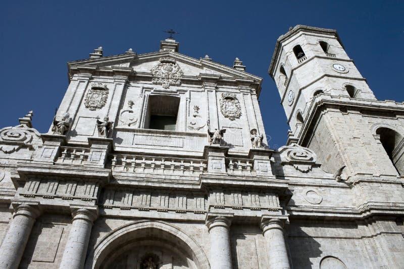 Catedral de Valladolid fotos de stock