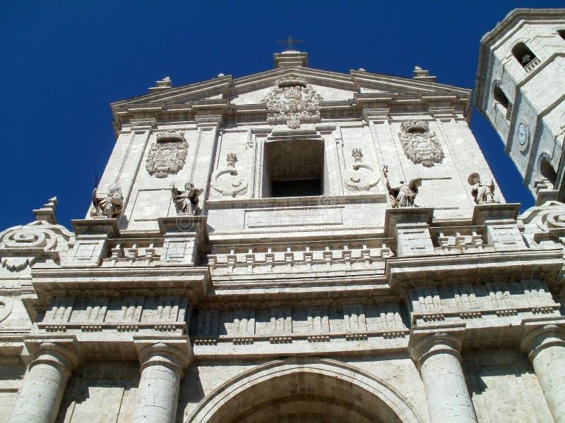 Catedral de Valladolid fotos de stock royalty free