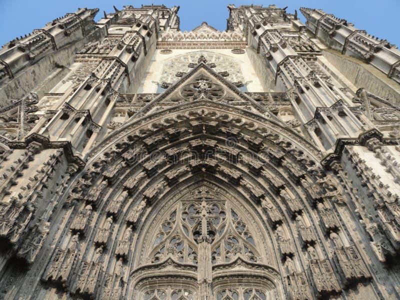 Catedral de viajes, Francia foto de archivo
