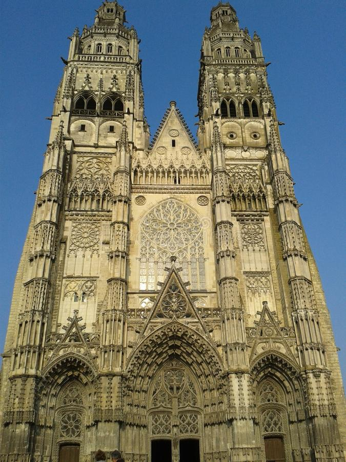 Catedral de viajes, Francia imagenes de archivo