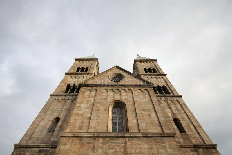 Catedral de Viborg en Dinamarca foto de archivo