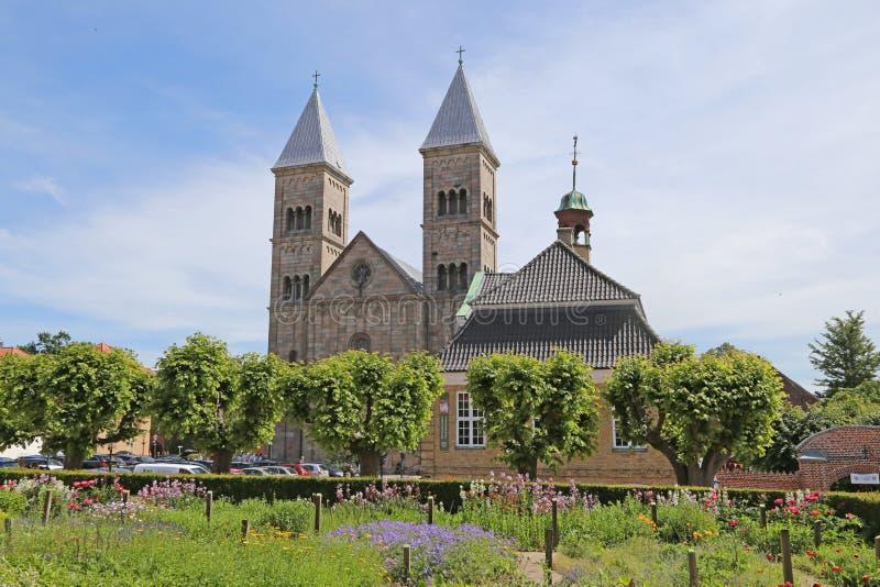 Catedral de Viborg en Dinamarca imágenes de archivo libres de regalías