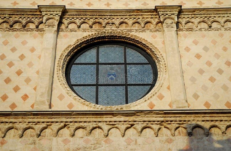 Catedral de Vicenza em Vêneto (Itália) fotos de stock royalty free