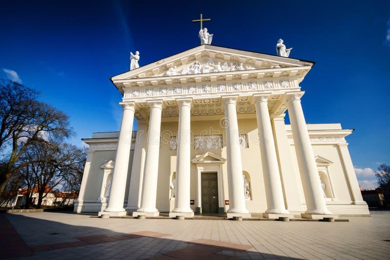 A catedral de Vilnius imagens de stock royalty free