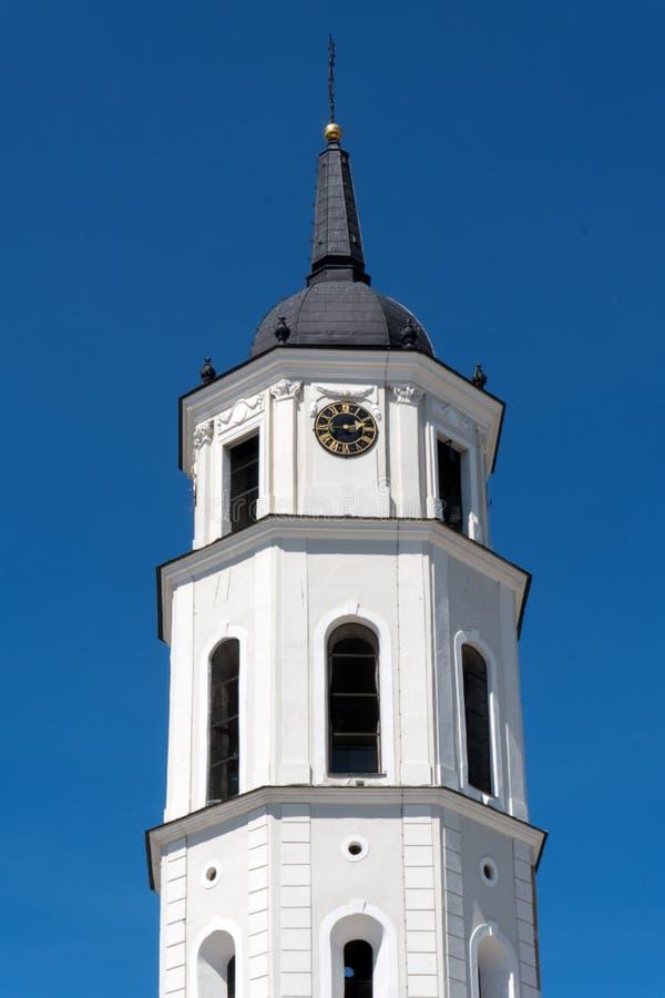 A catedral de Vilnius imagens de stock