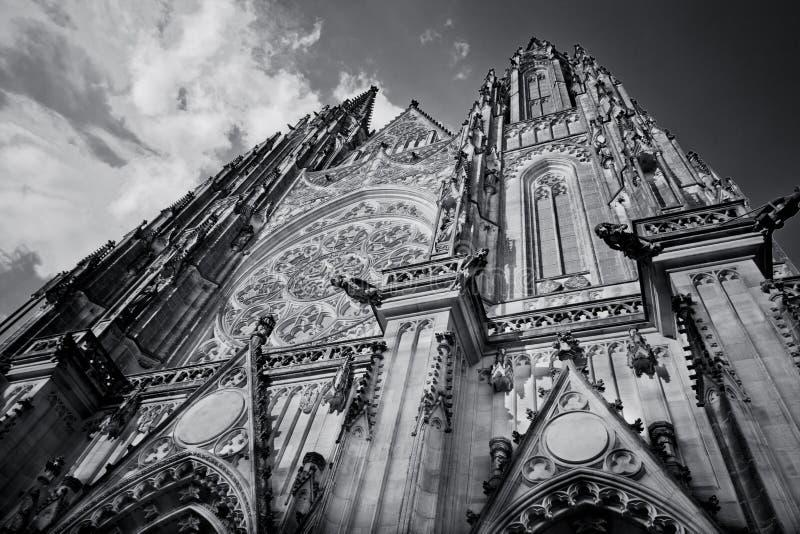 Catedral de Vitus de Saint fotos de stock royalty free