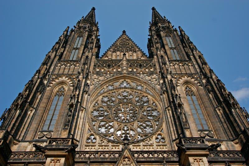 Catedral de Vitus del santo fotografía de archivo libre de regalías