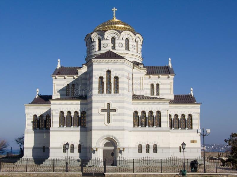 Catedral de Vladimir fotos de stock royalty free