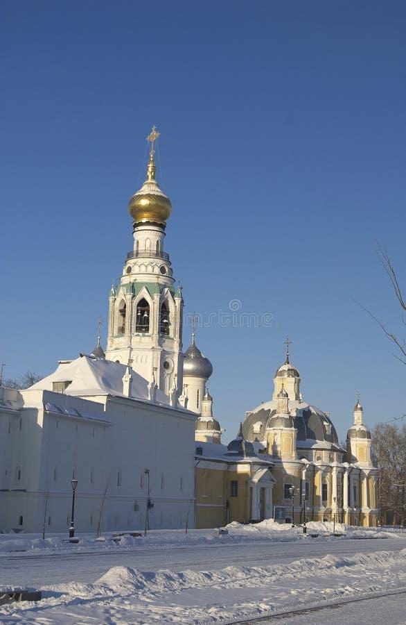 Catedral de Vologda - de Sofía foto de archivo