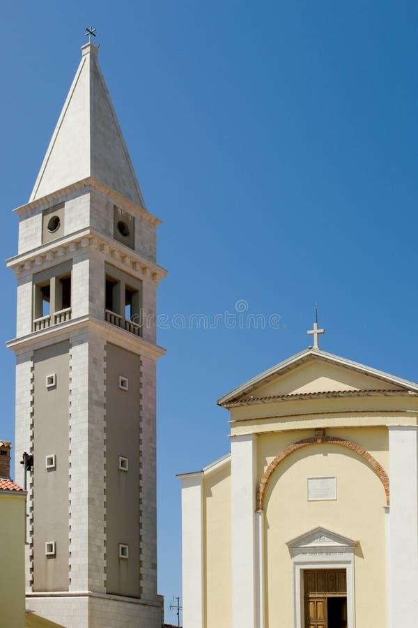 Catedral de Vrsar imagem de stock