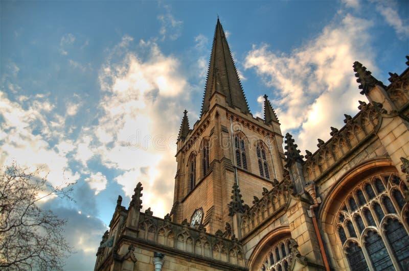 Catedral de Wakefield imagenes de archivo