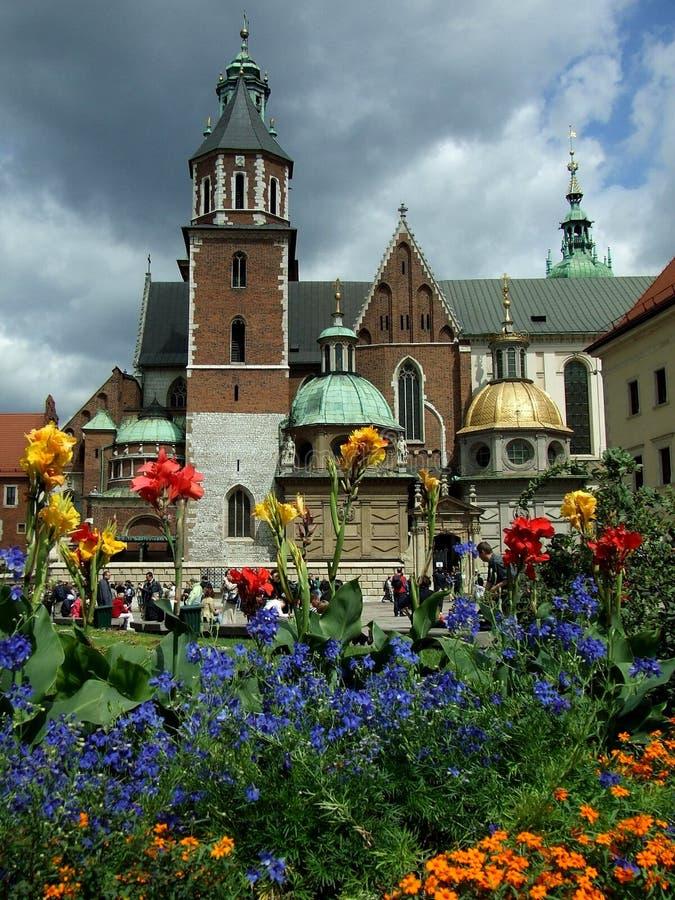 Catedral de Wawel fotos de stock royalty free