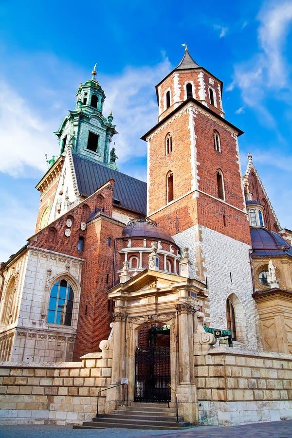 Catedral de Wawel imagem de stock