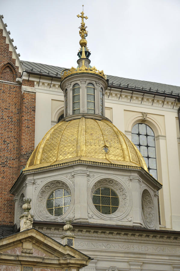 Catedral de Wawel, Krakow, Poland imagens de stock