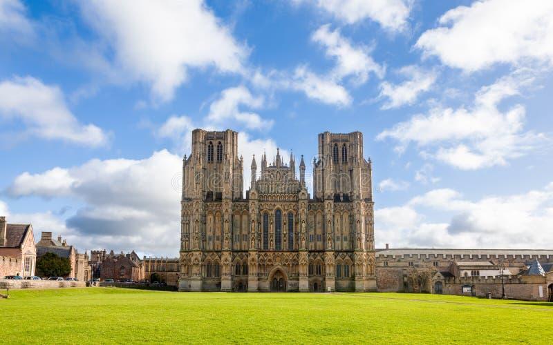 Catedral de Wells imágenes de archivo libres de regalías