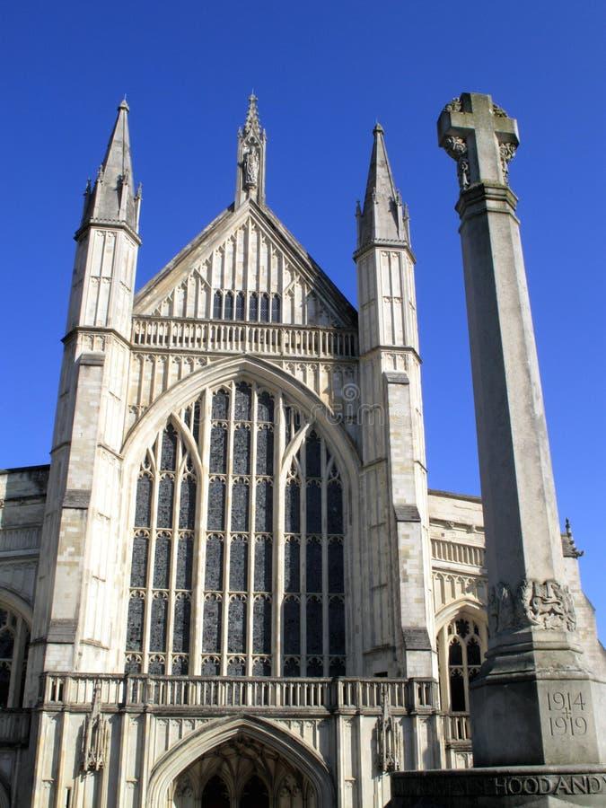 Catedral de Winchester imagens de stock royalty free